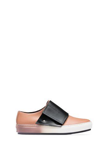 Marni Sneaker in calfskin with gaiter Woman