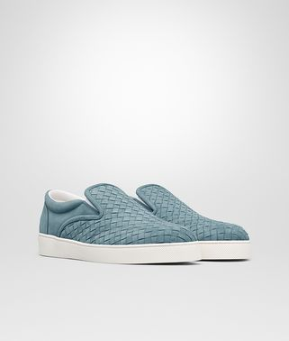 DODGER SNEAKER IN AIR FORCE BLUE INTRECCIATO SUEDE