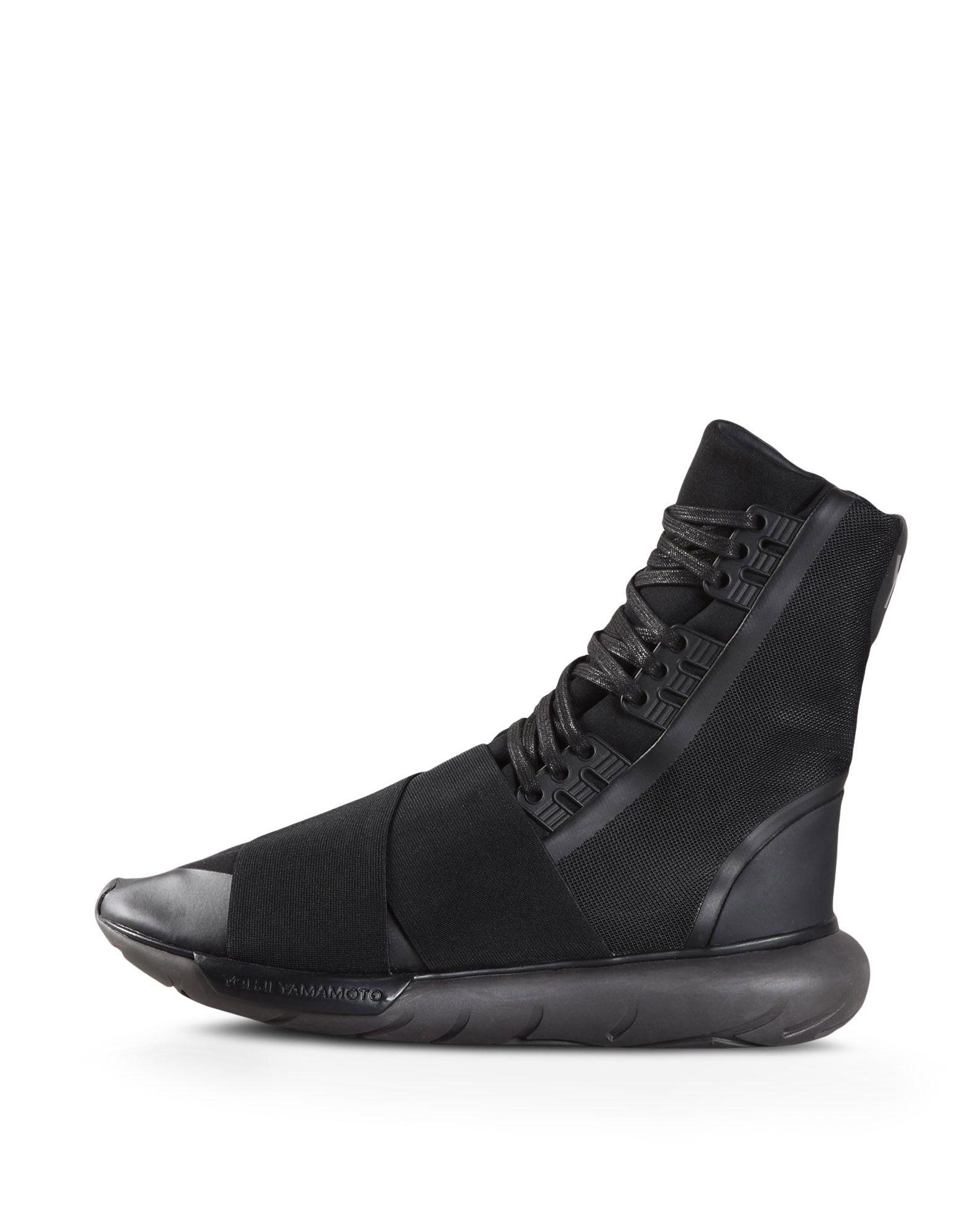 54ee843026e0e ... Y-3 Y-3 QASA BOOT High-top sneakers Man f ...