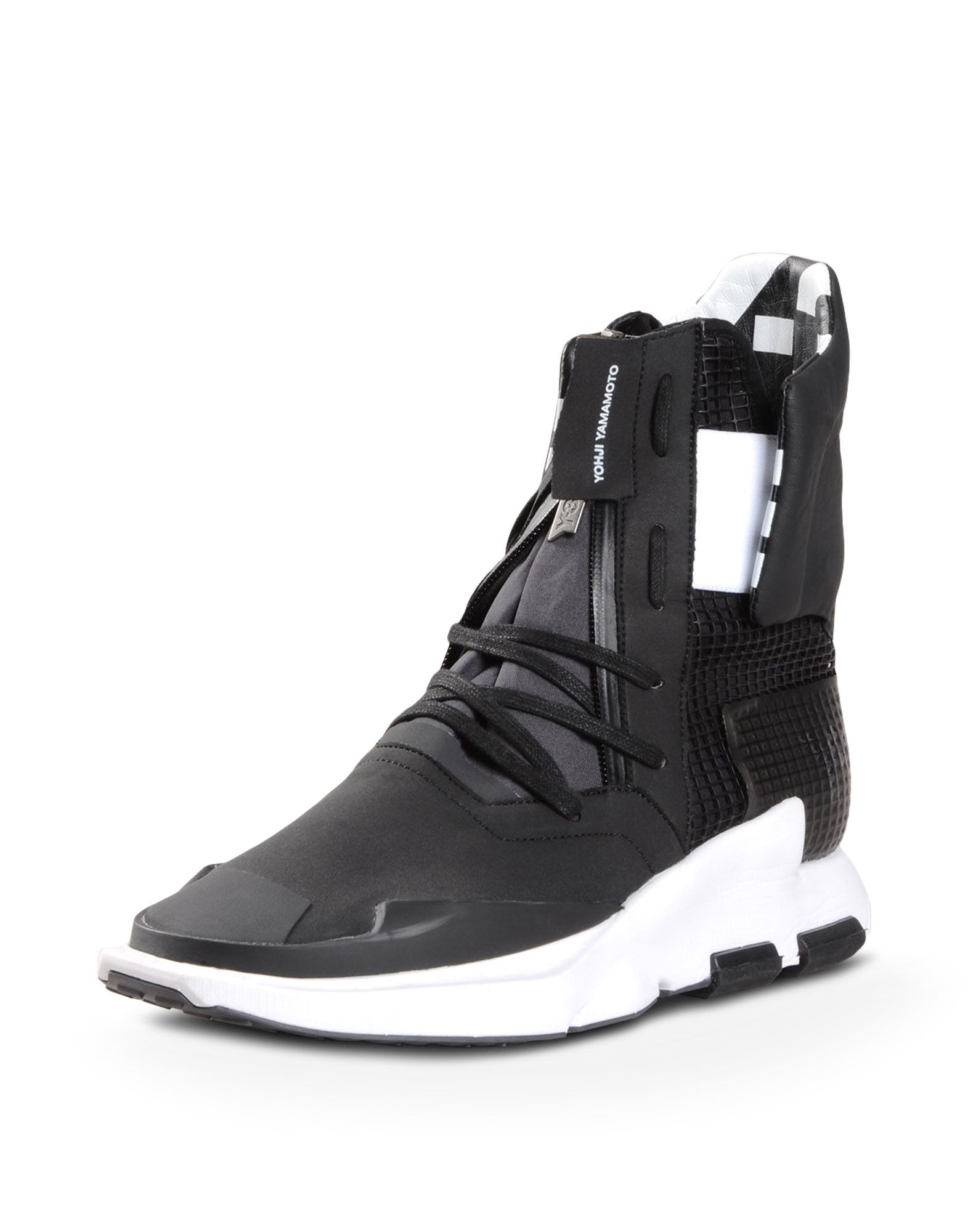 wholesale dealer 78a25 ddfa3 ... Y-3 Y-3 NOCI HIGH High-top sneakers Man r ...