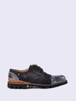 DIESEL STEEL LOW Lace Ups & Mocassins U f