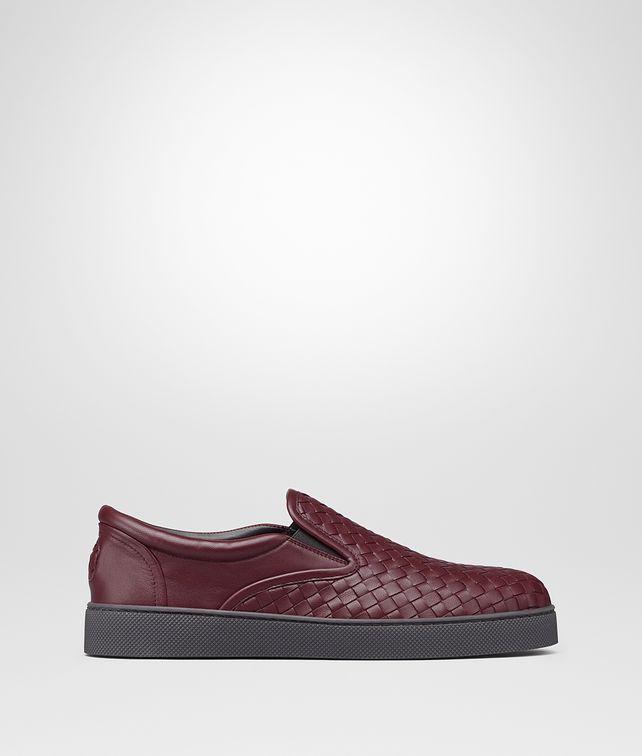 BOTTEGA VENETA DODGER SNEAKER IN BAROLO INTRECCIATO NAPPA Sneaker or Sandal U fp