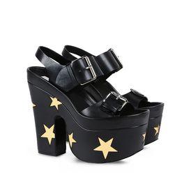 Black Star Sandals
