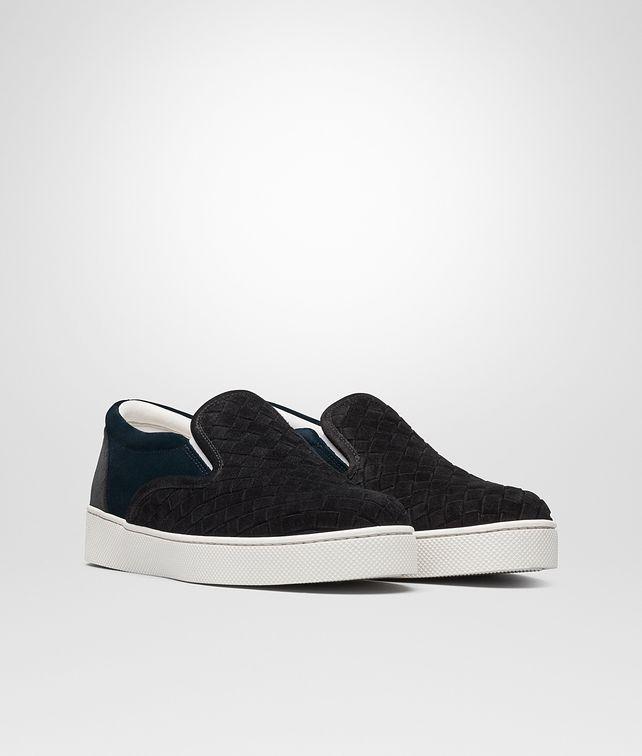 Bottega Veneta Intrecciato sneakers - Negro  Zapatillas Unisex Adulto Pt6D8F