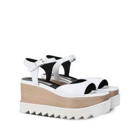 White Elyse Sandals
