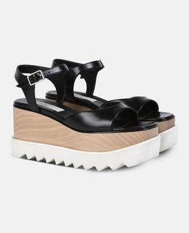Black Elyse Sandals
