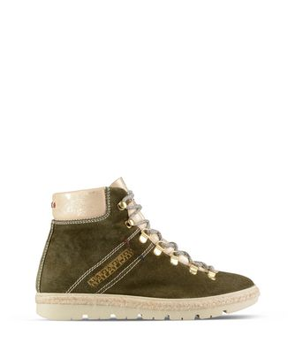 NAPAPIJRI LYKKE HIGH WOMAN ANKLE BOOTS,MILITARY GREEN