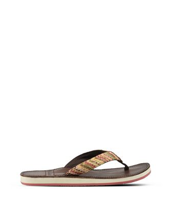 NAPAPIJRI ARIEL LEATHER WOMAN FLIP FLOPS,SAND