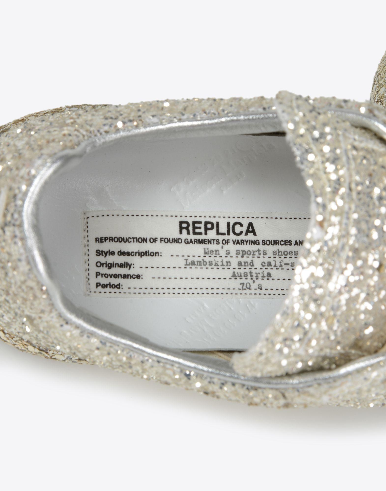 MAISON MARGIELA Sneakers «Replica» avec paillettes Sneakers Femme a