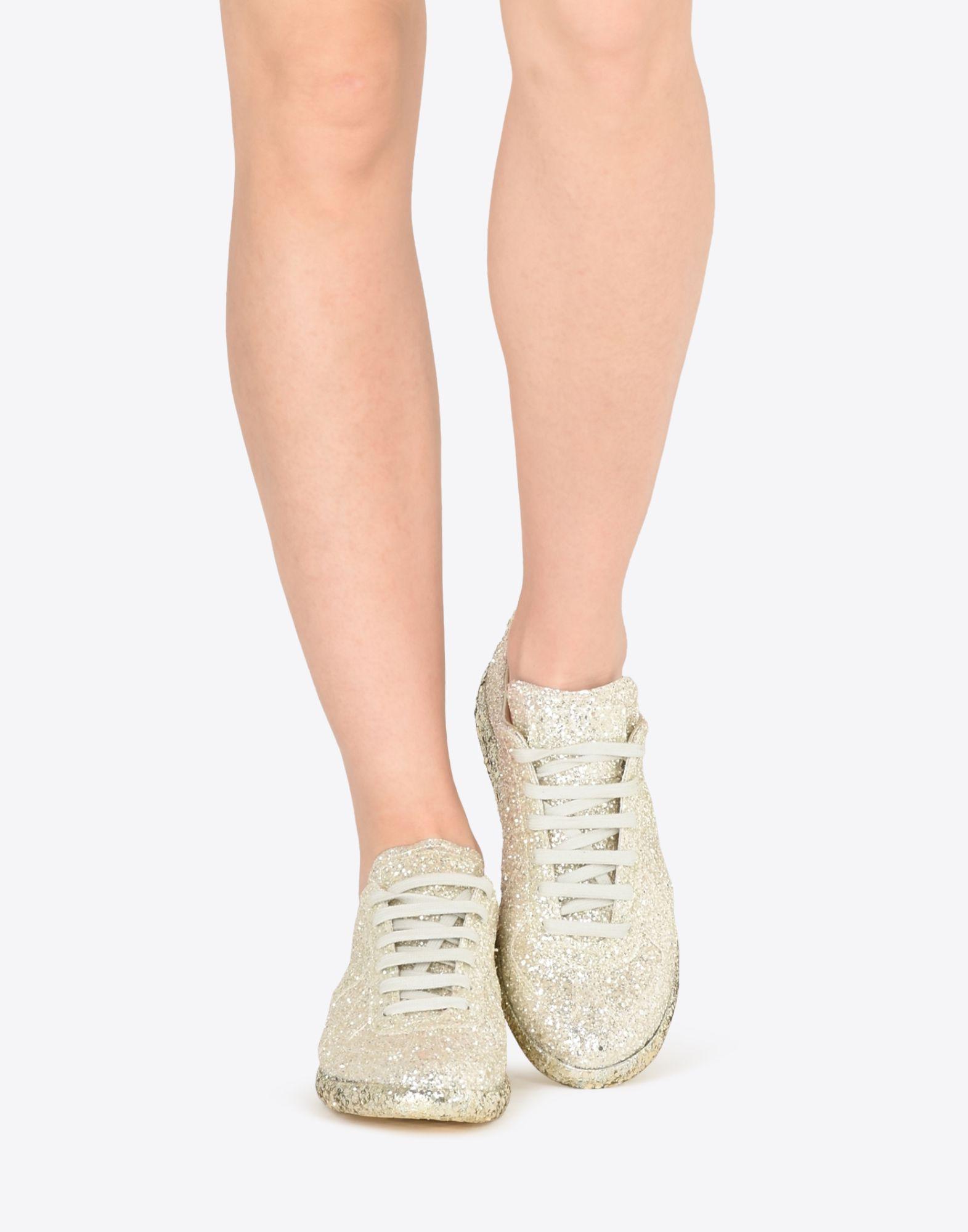 MAISON MARGIELA Sneakers «Replica» avec paillettes Sneakers Femme b