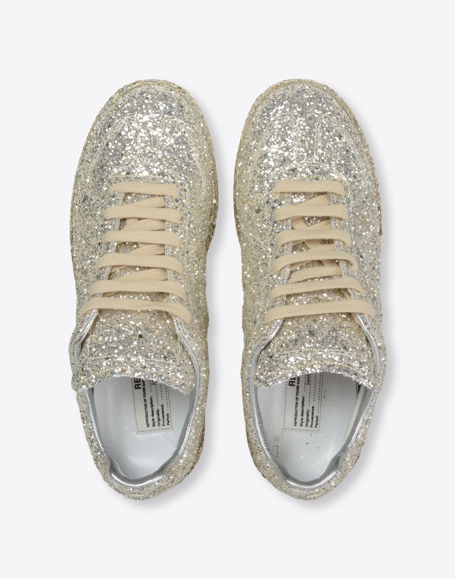 MAISON MARGIELA Sneakers «Replica» avec paillettes Sneakers Femme d