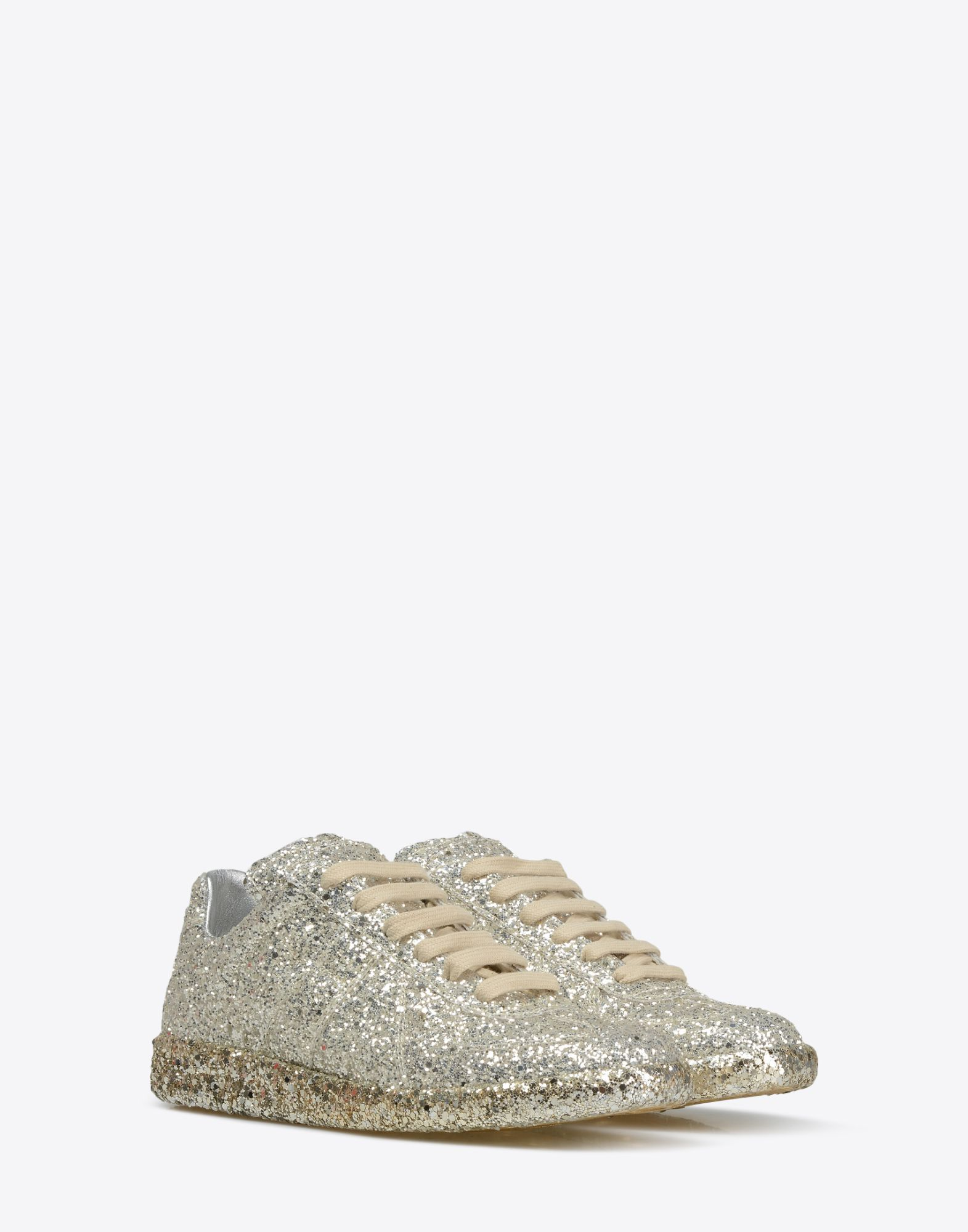 MAISON MARGIELA Sneakers «Replica» avec paillettes Sneakers Femme r