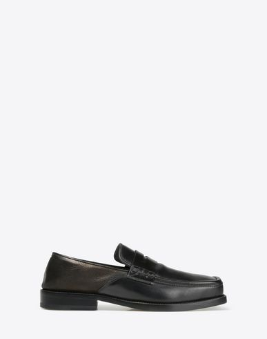 MAISON MARGIELA 22 Mocassins in calfskin leather Moccasins U f