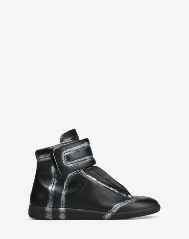 MAISON MARGIELA 22 Sneakers U 'Future' high-top sneakers with painting effect f