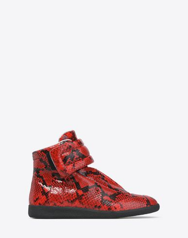 MAISON MARGIELA 22 Sneakers U 'Future' high-top sneakers with python effect f