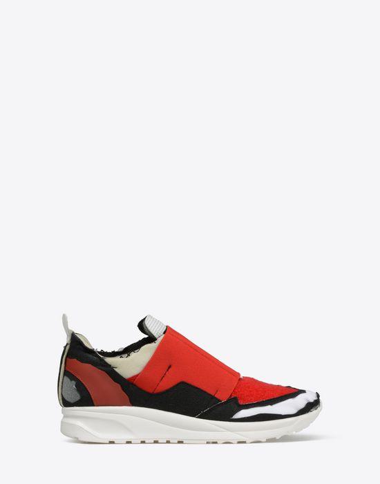 Tandis Que Pendant Que Chaussures De Sport Réplique De Gabardine Maison Martin Margiela bpMVI9zh