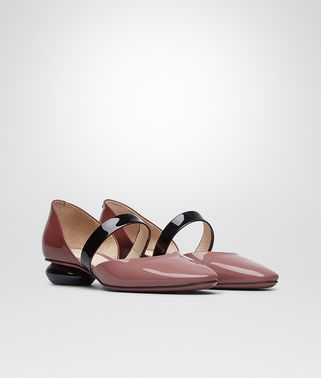 BETTE PUMPS IN DUSTY ROSE NERO PETRA PATENT CALF