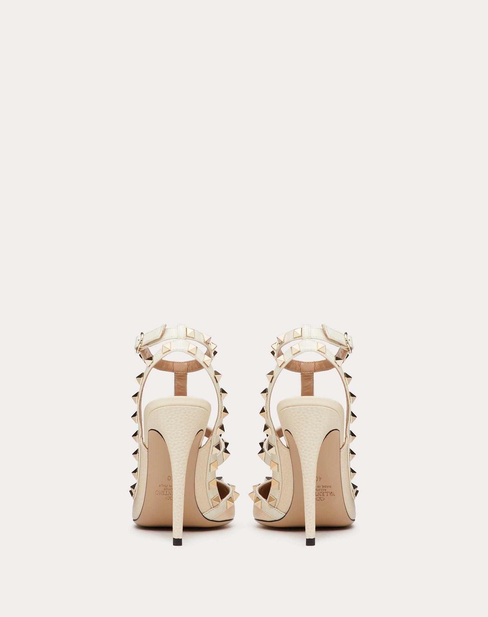 VALENTINO GARAVANI Rockstud Ankle Strap HIGH HEEL PUMPS D d