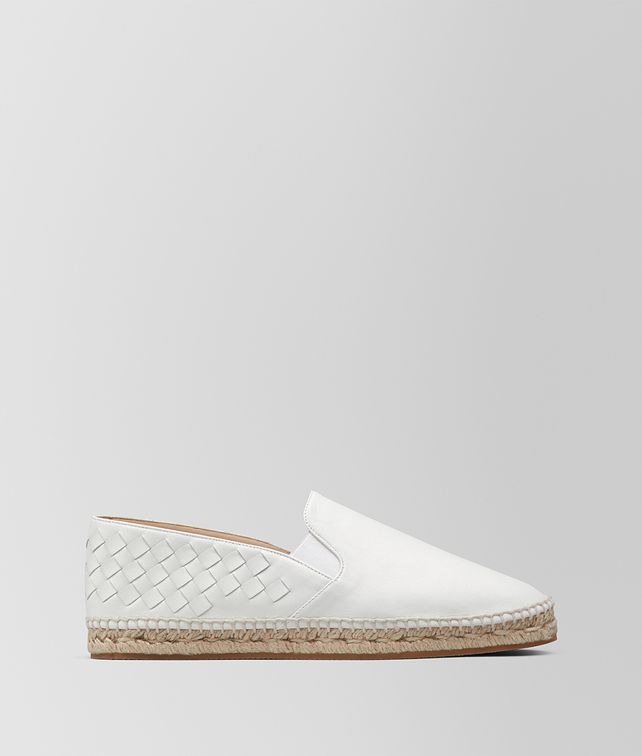 BOTTEGA VENETA ESPADRILLAS GALA IN INTRECCIATO NAPPA BIANCO Espadrillas [*** pickupInStoreShipping_info ***] fp