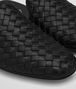 BOTTEGA VENETA FIANDRA SLIPPER IN NERO INTRECCIATO NAPPA Flat Woman ap