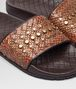 BOTTEGA VENETA LAKE SANDAL IN CALVADOS INTRECCIATO AYERS Pump or Sandal Woman ap