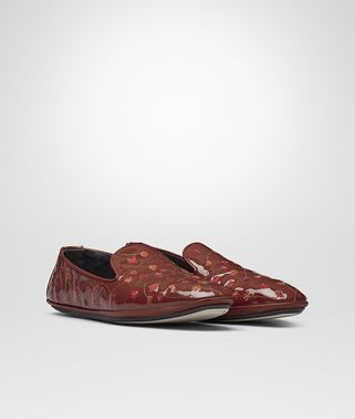 FIANDRA SLIPPER IN PETRA EMBROIDERED PATENT CALF LEATHER