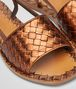 BOTTEGA VENETA RAVELLO SANDALS IN CALVADOS INTRECCIATO CALF Pump or Sandal Woman ap