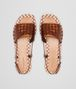 BOTTEGA VENETA RAVELLO SANDALS IN CALVADOS INTRECCIATO CALF Pump or Sandal D ep