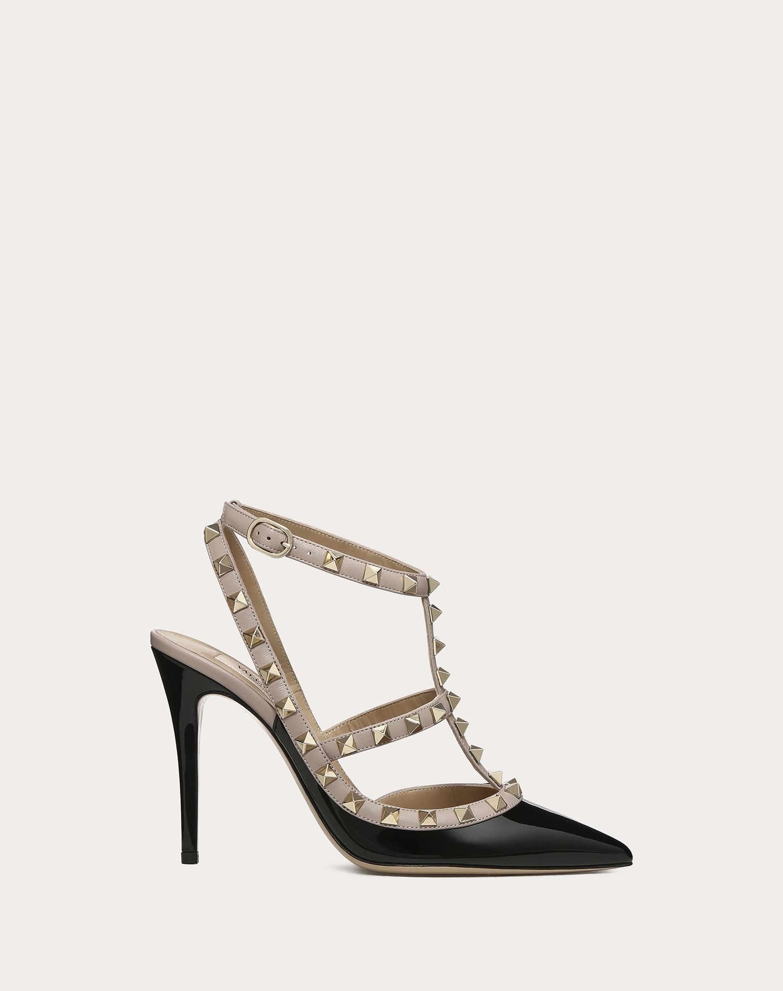 stud off to strap cuir m pumps tradesy regular deep collection on up sale b size rock t s valentino at us slingback rockstud