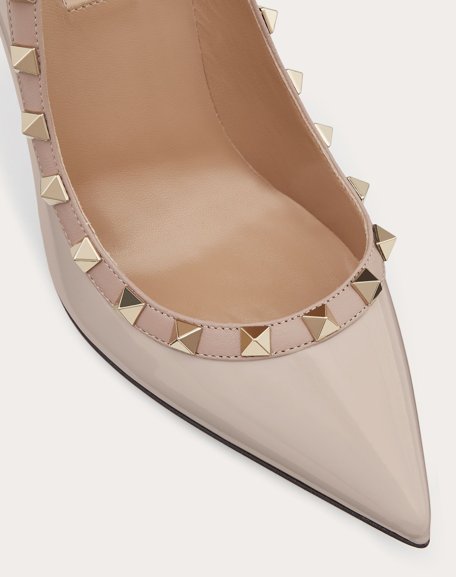 Garavani Rockstud patent leather pumps Valentino