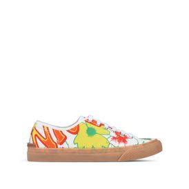 STELLA McCARTNEY MEN Men Sneakers U Floral Canvas Sneakers f