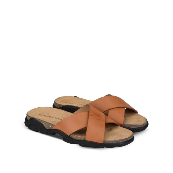 Burnt Orange Sandals