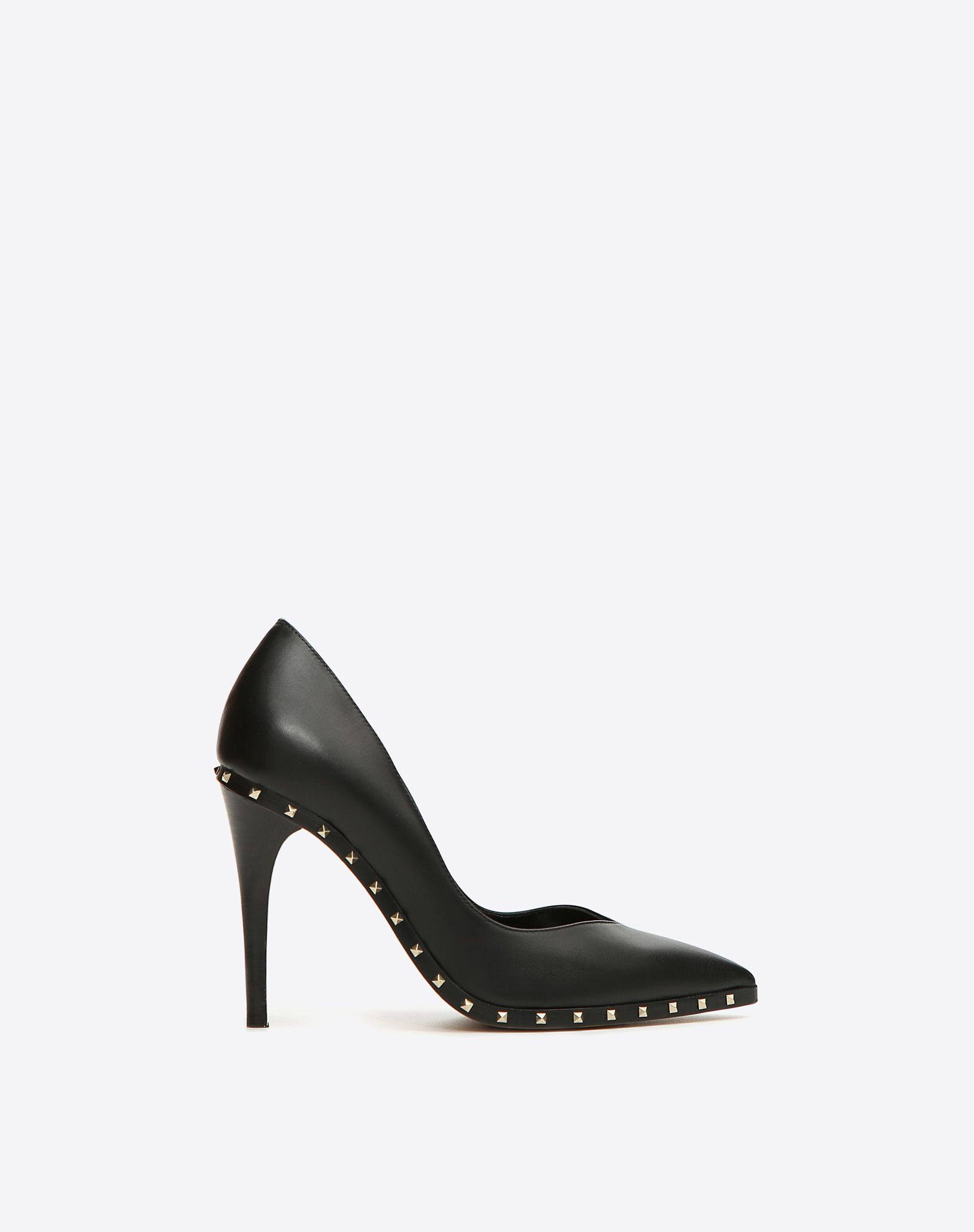 VALENTINO Solid color Leather sole Studs  11149454ln