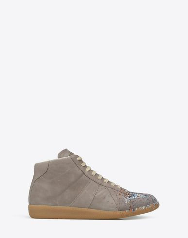MAISON MARGIELA 22 Sneakers U 'Replica' paint drop high-top sneakers f