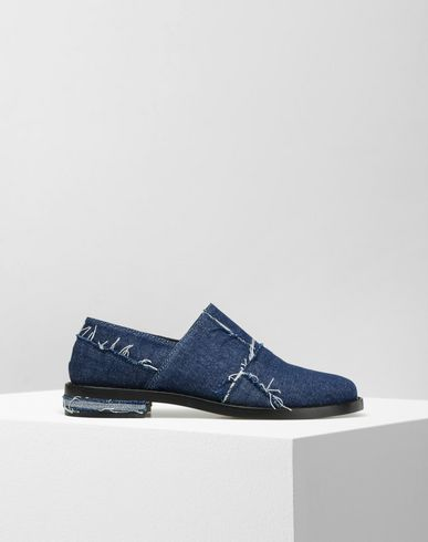 MM6 by MAISON MARGIELA Moccasins D Jeans mocassins with raw edges f