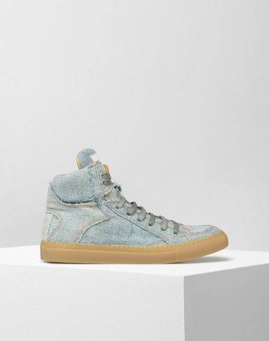 MM6 by MAISON MARGIELA Sneakers D High-top jeans sneakers f