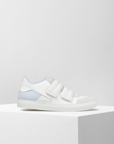 MM6 by MAISON MARGIELA Sneakers D Calfskin leather strap sneakers f