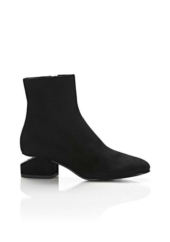 ALEXANDER WANG Boots KELLY SUEDE BOOT WITH RHODIUM