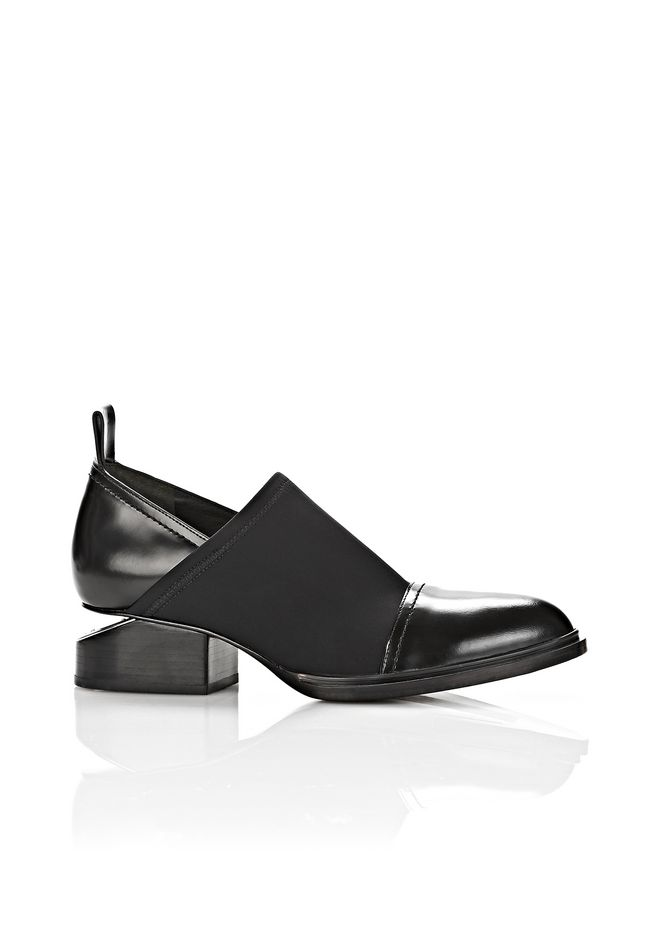 ALEXANDER WANG Boots NEOPRENE KORI OXFORD WITH RHODIUM
