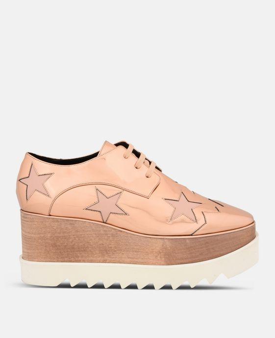 Chaussures Elyse cuivre avec étoiles