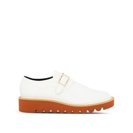 STELLA McCARTNEY Flat Shoes D White Odette Brogues f