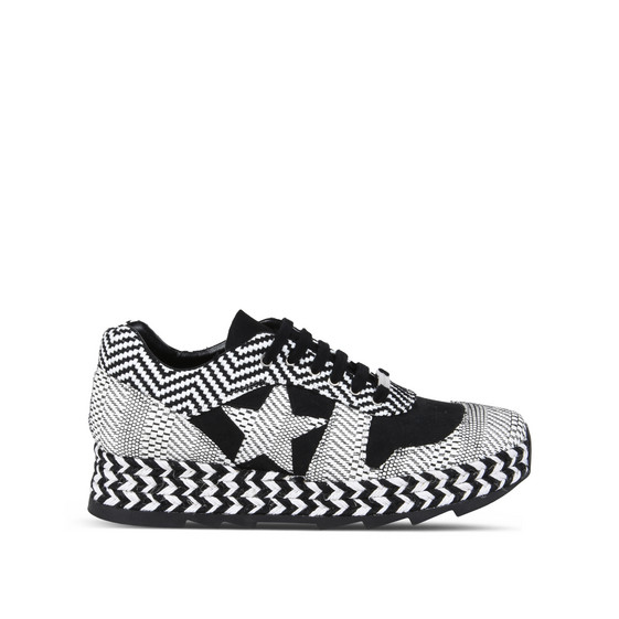 Mixed Print Macy Sneakers