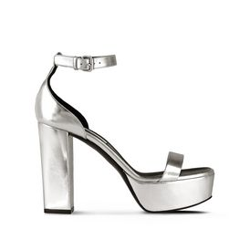 STELLA McCARTNEY Sandals D Silver Heel Sandals f