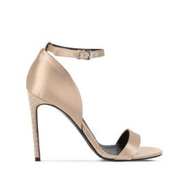 STELLA McCARTNEY Courts D Silk Satin Sandals f