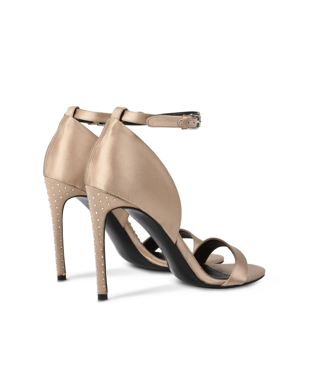 Silk Satin Sandals  - STELLA MCCARTNEY
