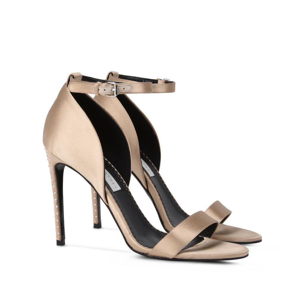 Silk Satin Sandals  - STELLA MCCARTNEY