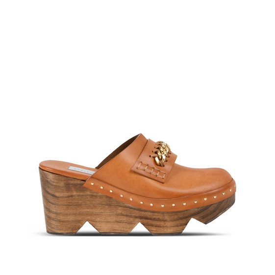 Burnt Orange Clogs