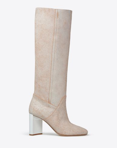 MAISON MARGIELA 22 Boots D Waxed leather high boots f
