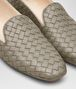 BOTTEGA VENETA FIANDRA SLIPPER IN FUME' INTRECCIATO NAPPA Flat Woman ap