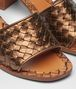 BOTTEGA VENETA RAVELLO SANDALS IN CALVADOS INTRECCIATO CALF Sandals Woman ap
